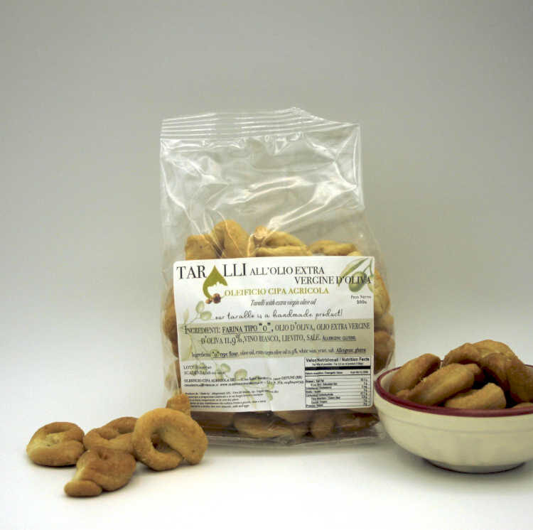 Taralli assortiti - Oleificio Cipa Agricola